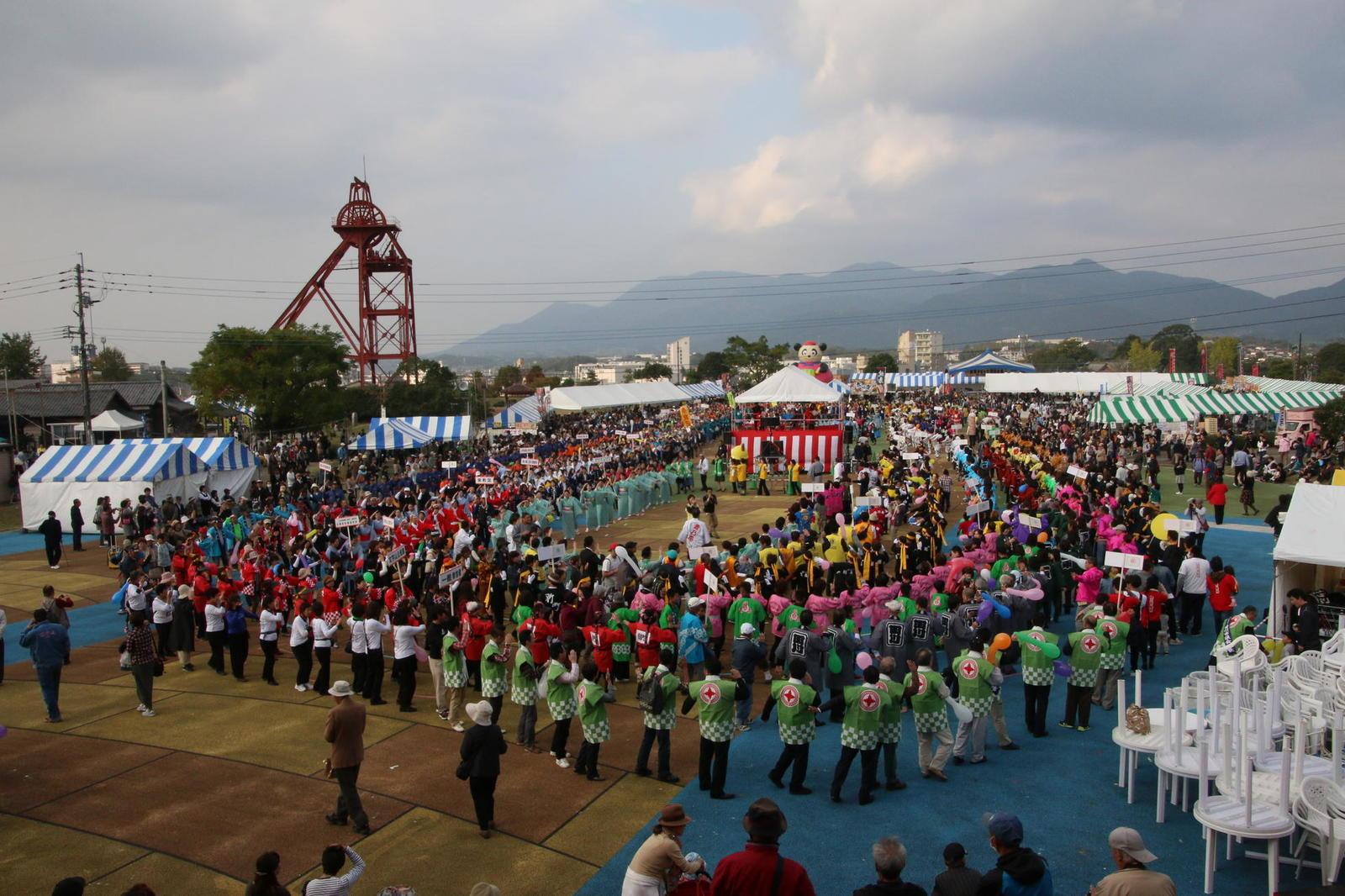 TAGAWAコールマイン・フェスティバル(炭坑節まつり)